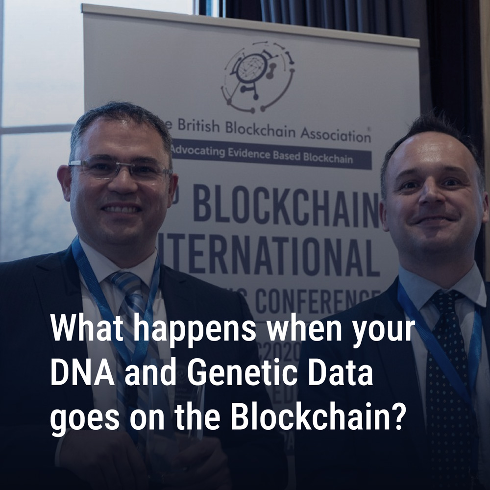 What happens when your DNA and Genetic Data goes on the Blockchain?